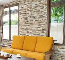 Natural Brick Home Deco Vinyl Self Adhesive Peel-Stick Wallpaper