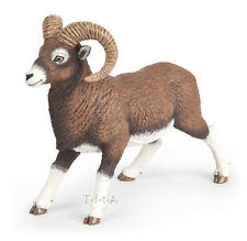 FREE SHIPPING | Papo 53018 Bighorn Ram Mountain Sheep Model Toy - New in Package