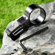 25.4mm Offset Ring Flashlight Laser Scope Mount with 20mm Picatinny Weaver Rail