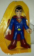 "DC Super Friends SUPERMAN 3"" Figure Walmart Imaginext Fisher-Price Hero Squad"