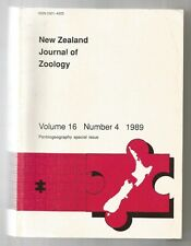 NEW ZEALAND JOURNAL OF ZOOLOGY Vol.16 Number4 1989 Panbiogeography Special Issue