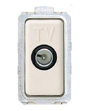 BTICINO MAGIC 5173P PRESA TV PASSANTE CON CONNETTORE MASCHIO