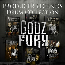 Producer Legends Hip Hop Drums Sample Sound Pack VST Download Kit FL Studio 10