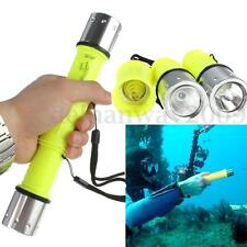 Elfeland 6000LM T6 LED Diving Scuba Flashlight Torch Light Underwater 100M