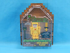 Terraria Gold Armor Player Series 1 Figure New Sealed 2015
