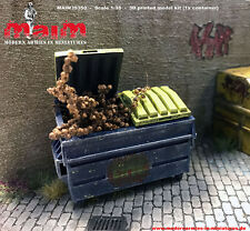 1:35 Scale Garbage Container / Dumpster / Bin - Diorama accessory