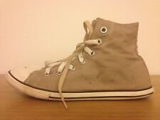 Converse Chuck Taylor Unisex Slim Beige Hi Top UK 6 FREE & FAST Shipping