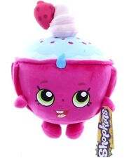 "NEW OFFICIAL 9"" SHOPKINS SOFT TOY CUPCAKE CHIC PLUSH SOFT TOY"