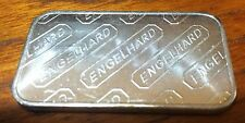 1 oz .999 fine pure silver Engelhard Mint numbered art bar one troy ounce
