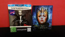 SNOW WHITE AND THE HUNTSMAN Extended 2 DISC BLURAY STEELBOOK 3D Lenticular Cover