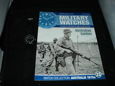 Eaglemoss Military Watches - Issue 23 - Australian Soldier Watch 1970s. NO BOX
