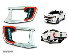 FOR ISUZU D-MAX HI-LANDER 2012-2014 DRL DAYTIME RUNNING LIGHTS FOG LAMP COVER