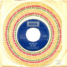 TOM JONES Love Me Tonight, Hide And Seek UK Press Decca F 12924 1969 SP