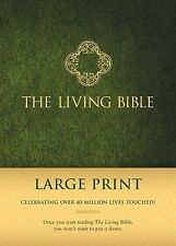 The Living Bible Large Print Edition (2013, Hardcover) BRAND NEW