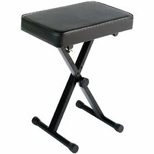 Yamaha PKBB1 Adjustable Padded Keyboard Bench, Piano Stool, Black NEW