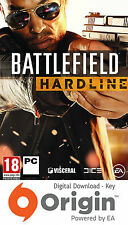 Battlefield HARDLINE PC Origin Clave