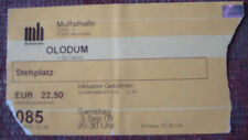 1 OLODUM used Ticket Stub 2005 Concert rare rar Concert Collector Item