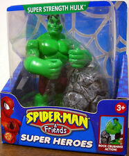 "SPIDER-MAN and FRIENDS SUPER HEROES Collection_SUPER STRENGTH HULK 6"" figure_MIP"
