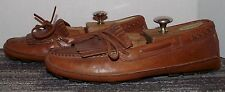 NEW COLE HAAN LEATHER DRIVING MOCS MEN'S SIZE 8.5 M! W@WZA! FAST~FREE SHIPPING!