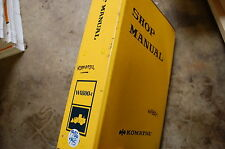 KOMATSU WA800-1 Front End Wheel Loader Service Repair Manual book 1986 shop pay
