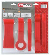KS Tools KUNSTSTOFFKEIL-SATZ, 5-TLG. 911.8120 Keil- Hebel- Zierleisten Clipheber