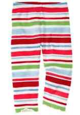 Gymboree BURST OF SPRING striped  leggings size 6-12 months NWT