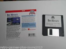 Bio-Menace (PC, 1993) DOS Shareware (Used Untested) 3.5 Inch Disk