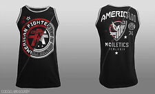American Fighter by Affliction Rutgers Tank Top Black X-Large