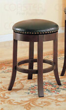 Dark Walnut Finish Counter Height Bar Stools by Coaster 101059 - Set of 2
