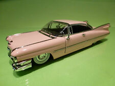JADA TOYS CADILLAC DEVILLE 1959 - PINK 1:24 - RARE SELTEN - LOW RIDER DUB - GOOD