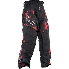 New Valken Paintball Crusade Riot 2016 Playing Pant Pants - Red - Medium M