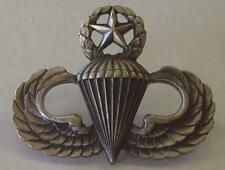 Late 50's / Vietnam War Master Paratroop Sterling Jump wing  - CB