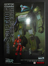 Takara 1/18 DMZ-01 Votoms ATM-09-ST SCOPEDOG & Chirico Cuvie Figure Set