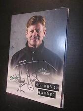 50121 Kevin HC Gaudet Bietigheim Eishockey original signierte Autogrammkarte