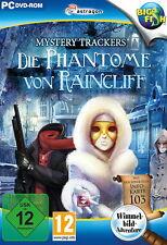 MYSTERY TRACKERS * DIE PHANTOME VON RAINCLIFF * WIMMELBILD-SPIEL  PC DVD-ROM