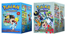 Pokemon Adventures Collections 1-7 Red & Blue And 8-14 Gold & Silver Box Sets :