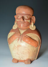 Pre Columbian Moche vessel ancient South America
