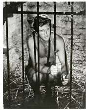 Ron Ely 8x10 original Tarzan tv series photo sitting in jail