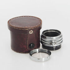 Canon 28mm F2.8 LTM M39 Leica Thread Mount Rangefinder Haze Coating Wear Rear