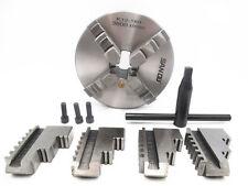 """160mm 6"""" inch Lathe Chuck 4 Jaw Self-Centering Hardened Steel CNC Milling"""
