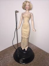 Franklin Mint MARILYN MONROE Sings Happy Birthday Mr President Musical Doll