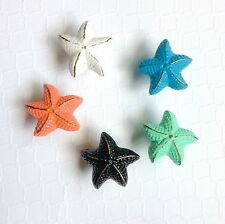 Bathroom Nautical Ocean Beach Cabinet Drawer  Knobs Pulls Starfish