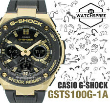 Casio G-Shock G-Steel Layered Guard Structure Watch GSTS100G-1A GST-S100G-1A