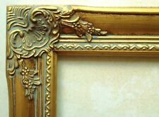 GOLD lEAF PICTURE FRAME Traditional Ornamented for Paintings, Art, Photos 16x20