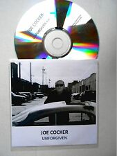 ★ ONLY FRENCH CD PROMO ★ JOE COCKER : UNFORGIVEN