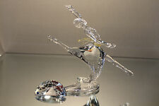 "Swarovski Crystal SCS 2004 ""Magic of Dance"" Anna Figurine COA & Box & Plaque"