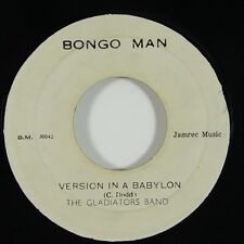 "Gladiators Band ""Version In A Babylon"" Reggae 45 Bongo Man mp3"