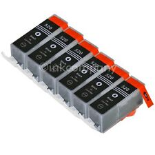 6 für CANON + Chip PGI-520 IP3600 MP 540 MP 550 MP 560 MX 860 MX870 TINTE NEU