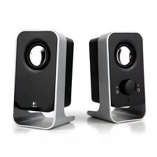 [Ship from USA] Logitech LS11 PC Computer Speaker 2.0 Black & Silver
