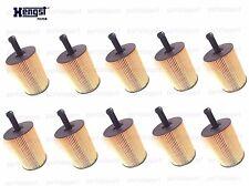 Set of 10 Oil Filter Kits HENGST FILTER Audi A3 TT VW Beetle VR6 Jetta TDI